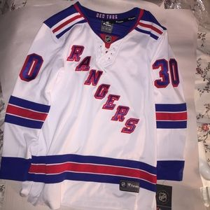 NWT ladies Size SMALL auth FANATICS NY Rangers #30